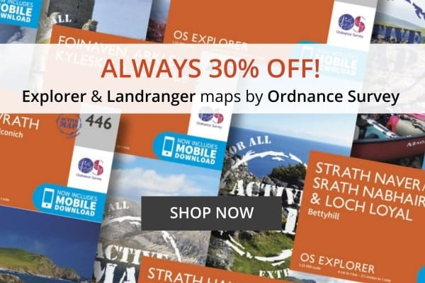 Ordnance survey maps sale special offer
