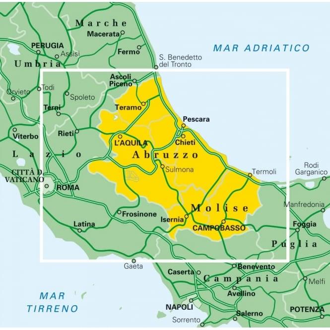 TCI 09: Abruzzo & Molise Regional Map