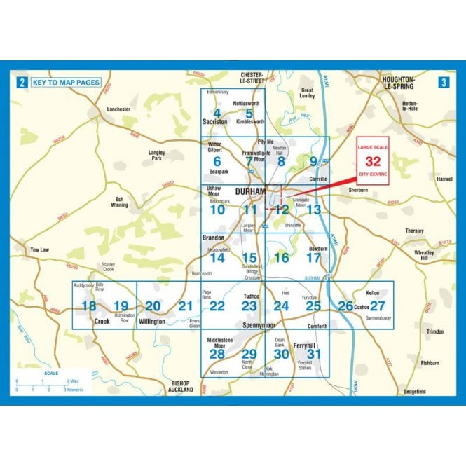Durham A-Z Street Atlas | Published by the A-Z Map Company. on