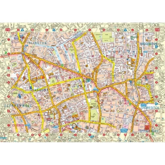 London Atlas Map.London A Z Master Atlas Flexibound
