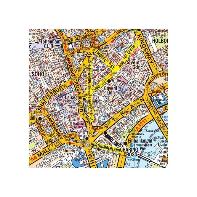 The Mall London Map.London A Z Map
