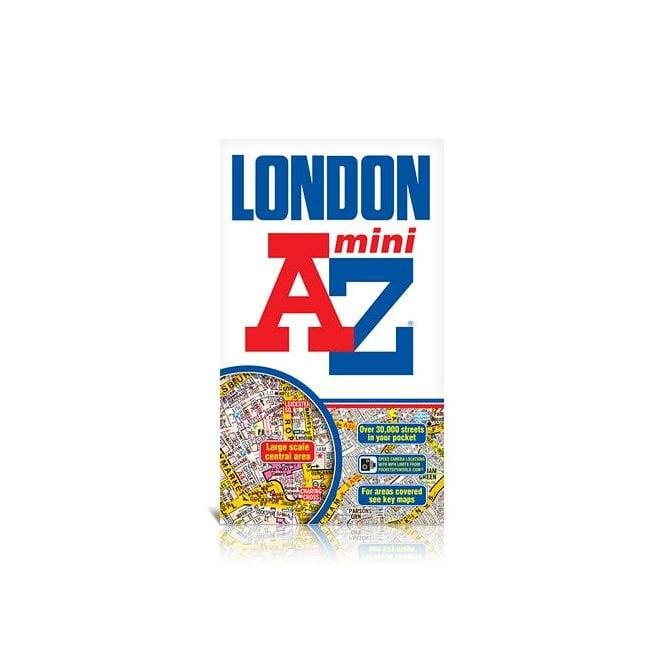 Az Street Map Of London.London Mini A Z Street Atlas Paperback