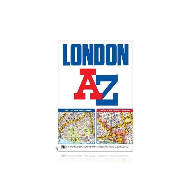 Az Street Map Of London.London A Z Street Atlas Paperback