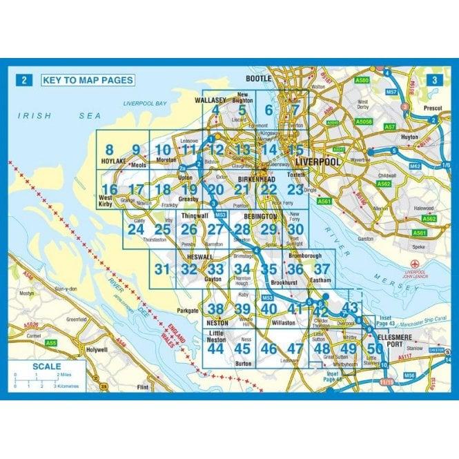 Wirral A-Z Street Atlas