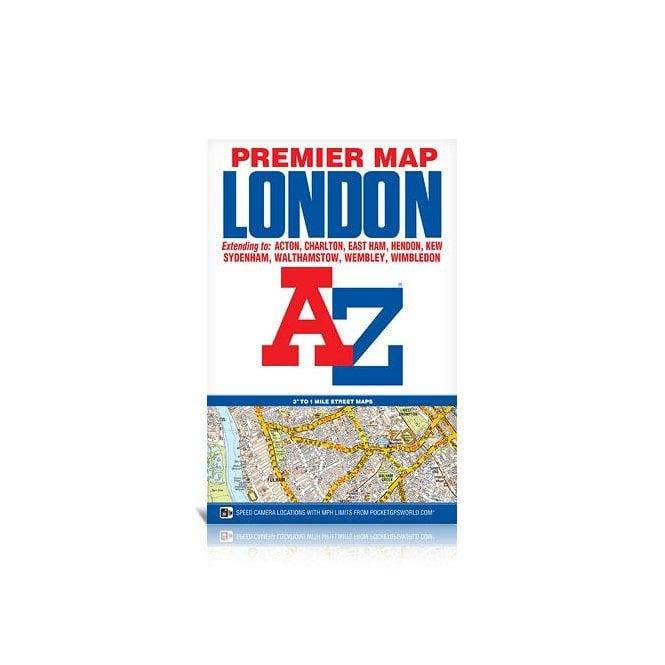 Az Street Map Of London.London A Z Premier Map Folded Edition