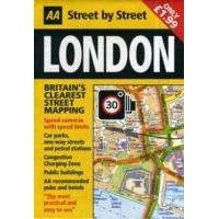 London: AA Street By Street Pocket Map