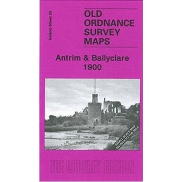 Old Ordnance Survey Maps Ardglass /& Dundrum Bay Ireland 1900 Godfrey Edition New