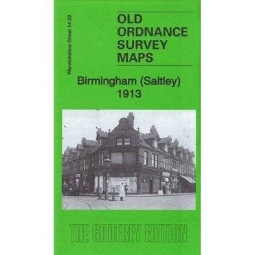 Old Ordnance Survey Maps  Aston Manor near Birmingham 1913 Sheet 8.13 Brand New