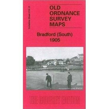 Old Ordnance Survey Maps Bradford South Yorkshire 1905  Sheet 216.12 New