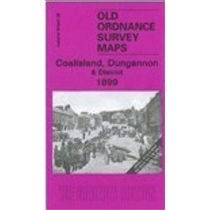 Old Ordnance Survey Maps Larne /& Islandmagee 1900 /& Map Glynn Ireland Sheet 21