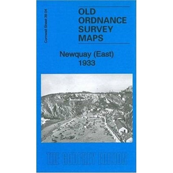 Old Ordnance Survey Detailed Maps  Newquay East Cornwall 1933 Sheet 39.04