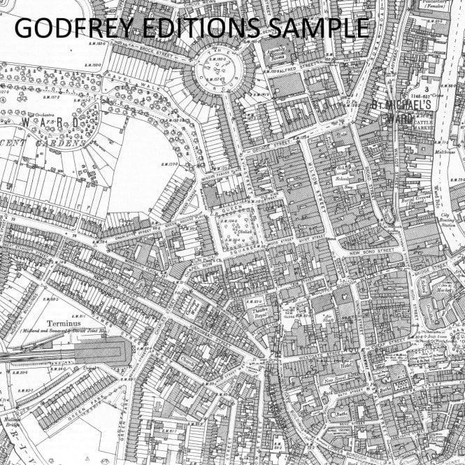 Old Ordnance Survey Maps North Surbiton /& South Kingston Surrey 1932 S 12.04 New