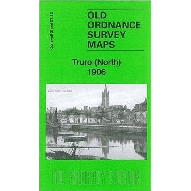 Old Ordnance Survey Maps Truro Cornwall 1906  Godfrey Edition New North