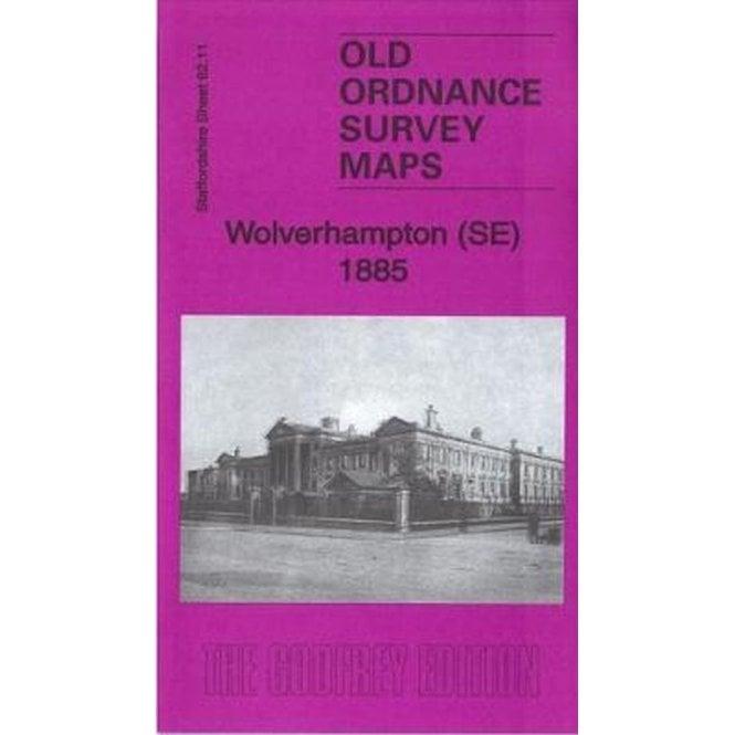 Old Ordnance Survey Maps Walsall NE near Wolverhampton 1913 Sheet 63.07