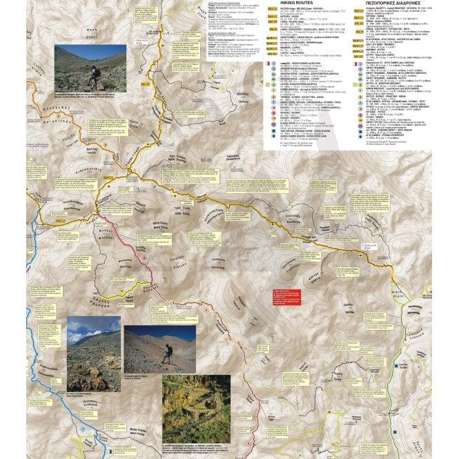Topographic Map Mountains.Evritania Mountains Topographic Map