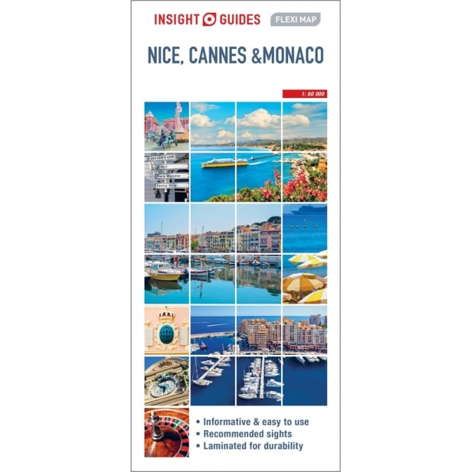Insight FlexiMap: Nice, Cannes and Monaco