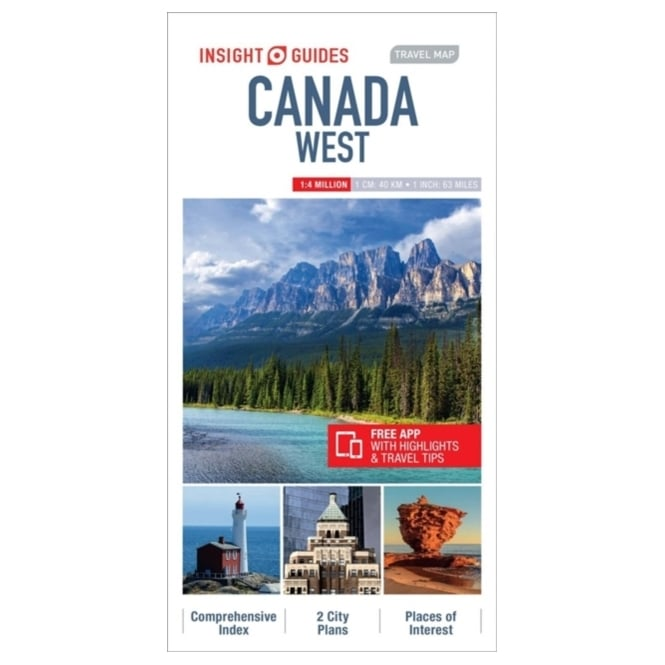 Insight Travel Map: Canada West