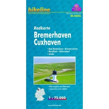 Bikeline Map: Bremerhaven / Cuxhaven Cycling Map