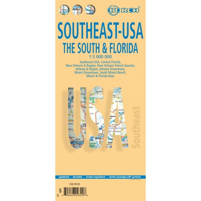 USA 6 - Southeast (The South & Florida) Road Map Central Florida Road Map on east central florida map, south west florida cities map, central florida expressway map, central florida rivers map, mid florida map, central florida crabbing maps, florida interstate map, stetson university florida map, central florida topographic map, orlando map, northeast florida coastal map, central florida rail map, central florida map view, central florida cities map, north florida map, st. petersburg beach florida map, south central florida map, detailed florida state map, central florida counties map printable, central florida college campus map,