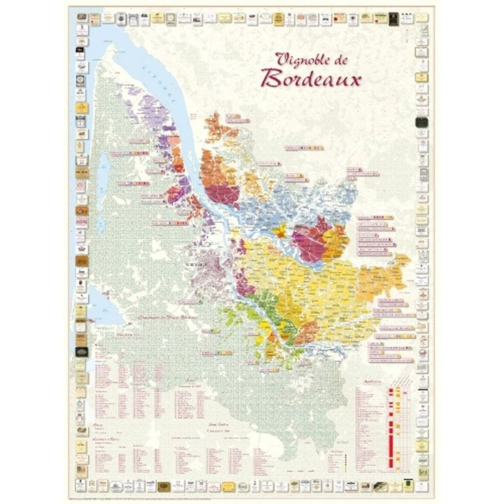 France map of bordeaux Map of