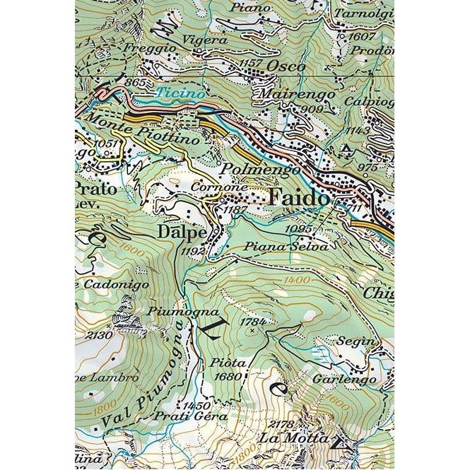 Toggenburg Swisstopo 100k Sheet 33