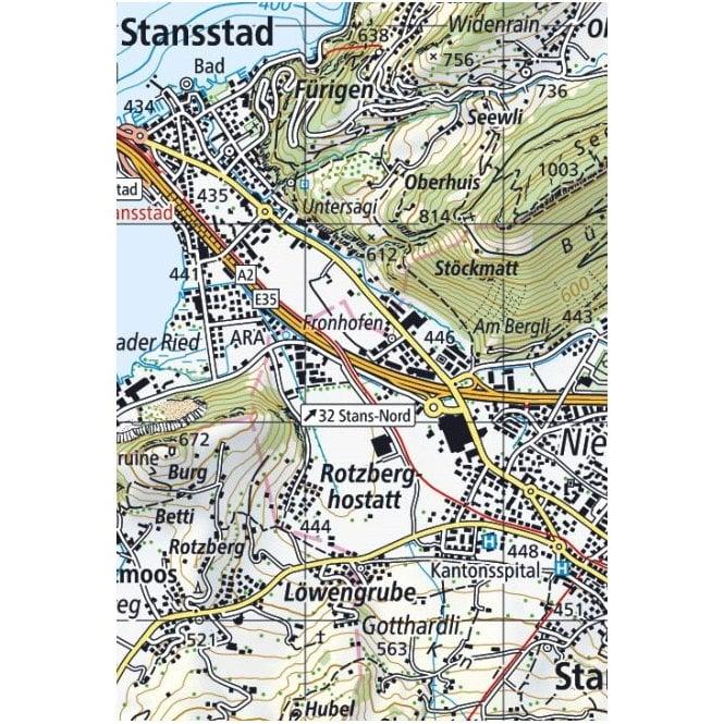 Bregenz Swisstopo 50k Sheet 218