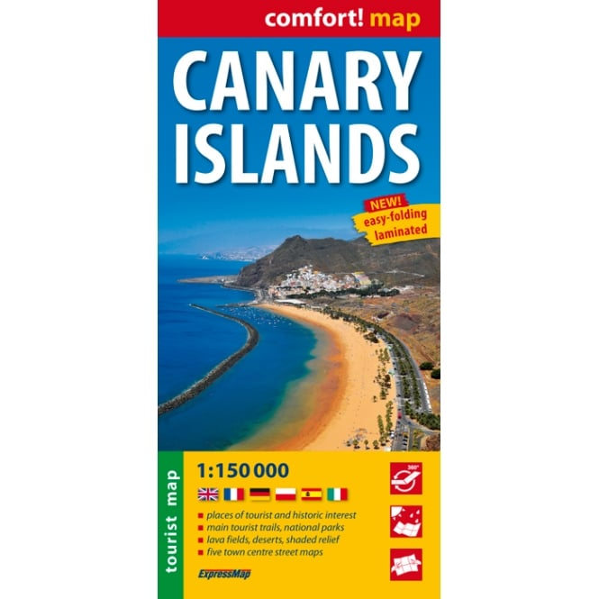 Canary Islands Comfort! Map