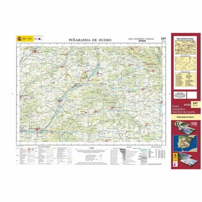 Peñaranda De Duero Mapa.0347 Penaranda De Duero