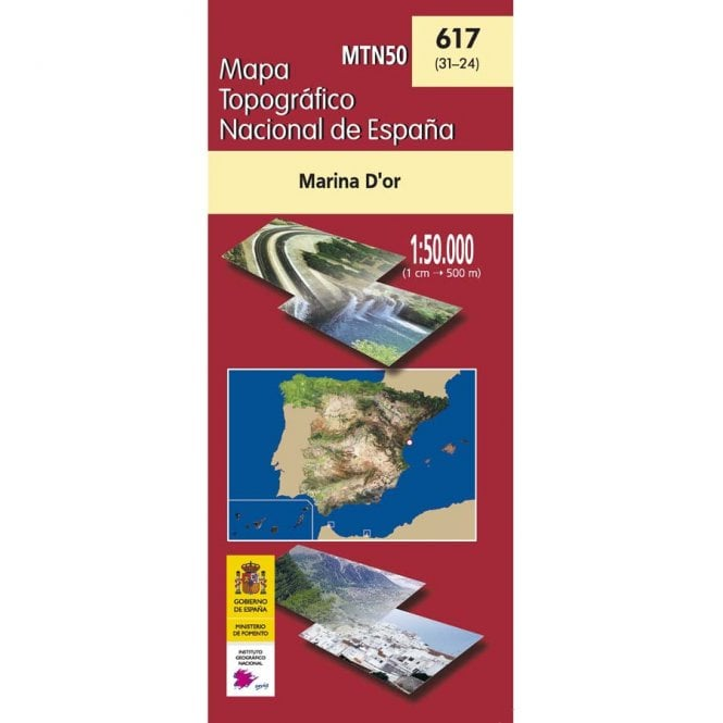 0617 Marina D Or Topographic 50k Maps Of Spain From Cnig