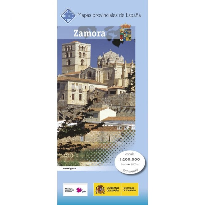 Map Of Spain Zamora.Provincial Map Of Zamora 200k Scale Maps Of Spain From Cnig