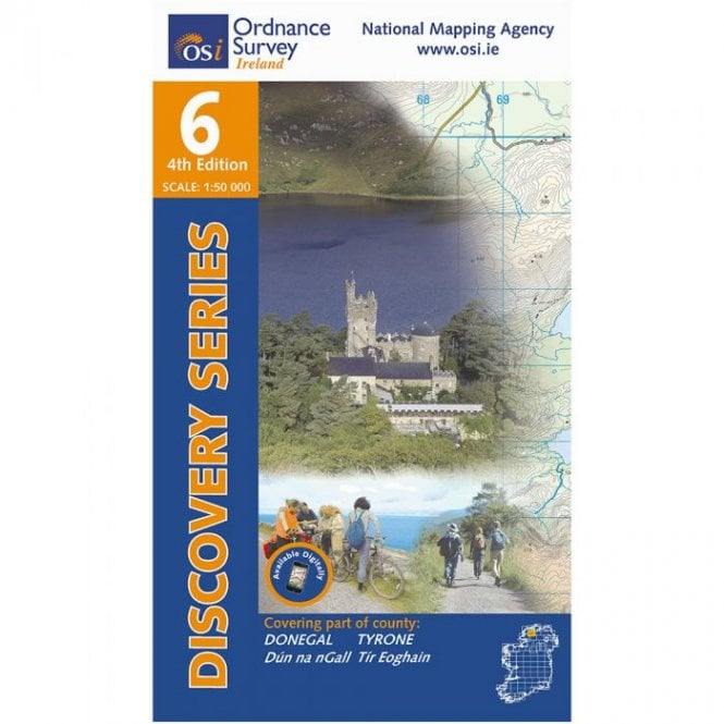 Osi Map Of Ireland.Discovery Map 06 Donegal Cent Tyrone