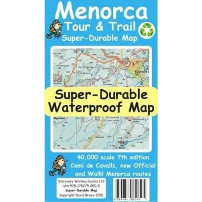 Mallorca North /& Mountains Tour /& Trail Super-Durable Map