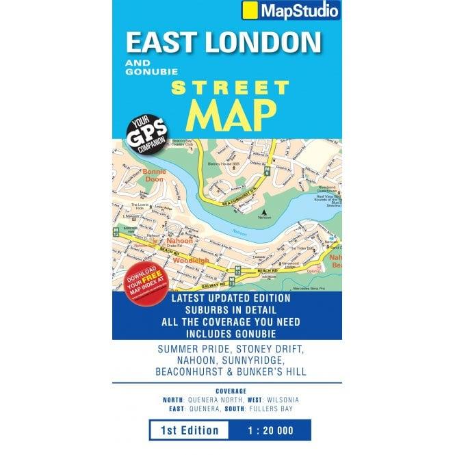 East London On Map.East London Gonubie Street Map