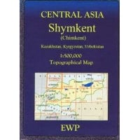 Central Asia: Shymkent (Chimkent) Map