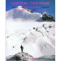 Central Tien Shan (Celestial) Mountains Map