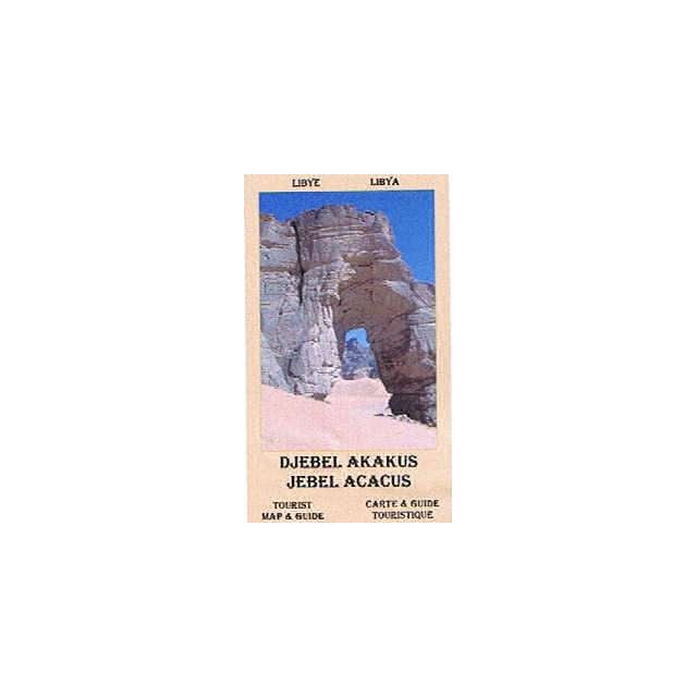 Jebel Acacus (Libya) Tourist Map & Guide