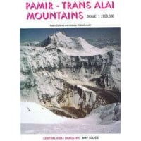 Pamir-Trans Alai Mountains Map & Guide