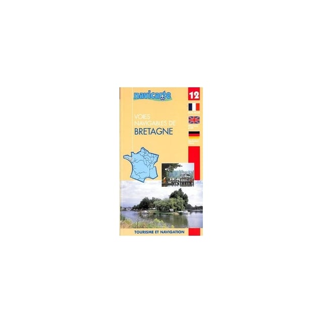 Waterway Map Guide 12: Bretagne - Out of Print.