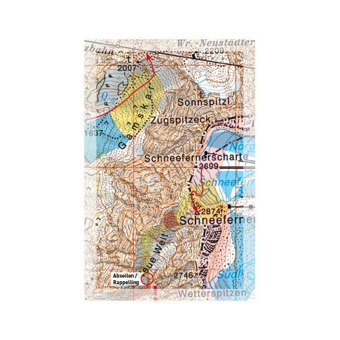 Map Of Germany Garmisch.Freeride Maps Garmisch Zugspitz Arena Germany Frm 0024