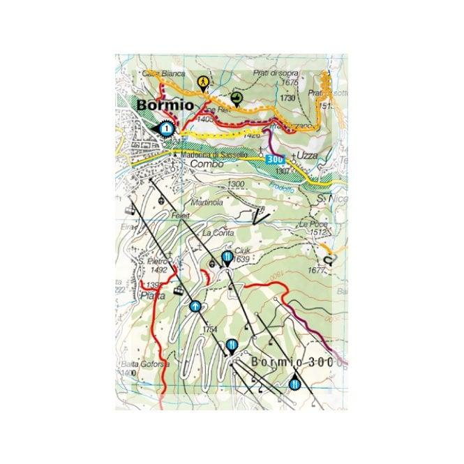 Livigno Italy Map.Supertrail Maps Livigno Bormio Italy Stm 0021