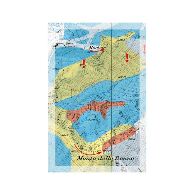 Livigno Italy Map.Freeride Maps Livigno Italy Frm 0042