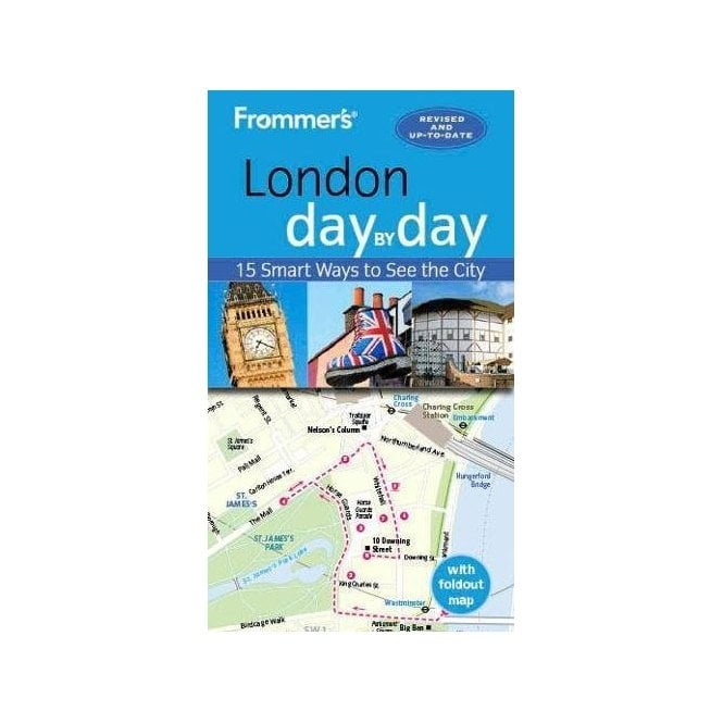 London In A Day Map.Frommer S London Day By Day