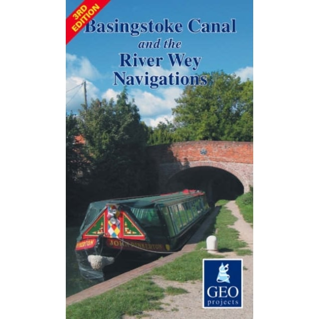 Basingstoke Canal & River Wey Navigations Map