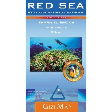 Red Sea Geographical Map