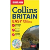 Britain Collins Easy Route Planning Map