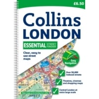 London Essential Street Atlas Spiral