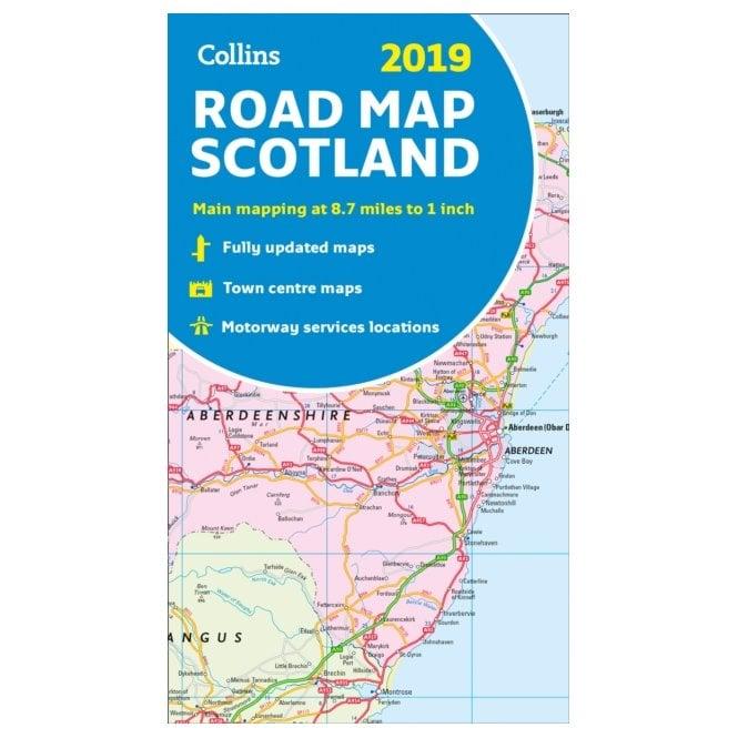 Scotland 2019: Collins Road Map
