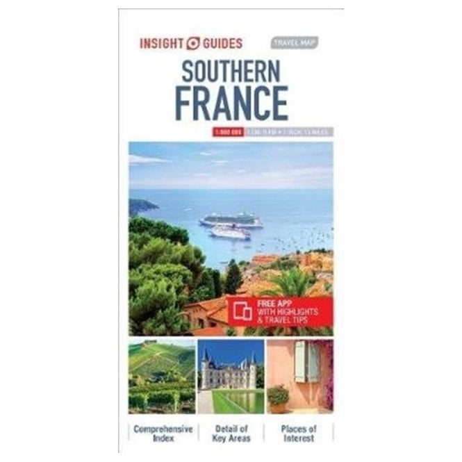 Map South Of France.Insight Travel Map Southern France