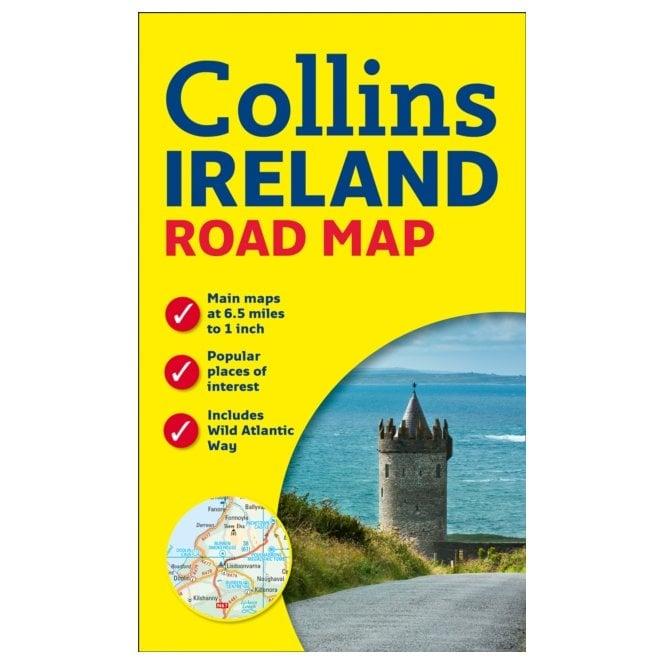 Map Of Ireland Book.Ireland Road Map