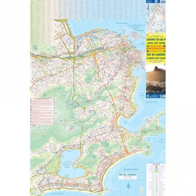 Rio de Janeiro & Brazil East Coast Map
